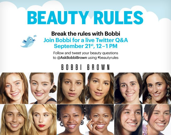 Bobbi Brown Beauty Rules New Book