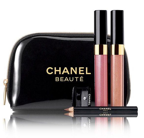 Chanel Holiday 2010 Levres Scintillantes Glossimer Duo Set