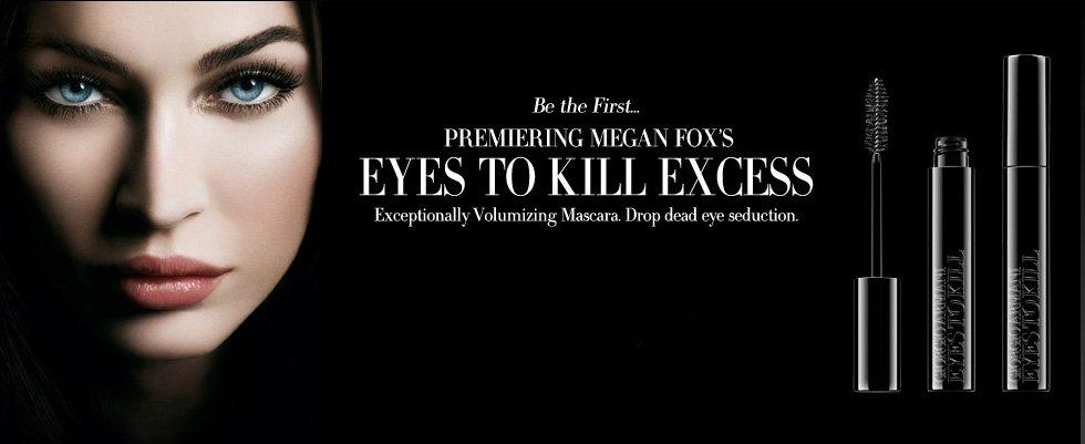 Megan-Foxs-Eyes-to-Kill-Excess-Mascara-by-Giorgio-Armani