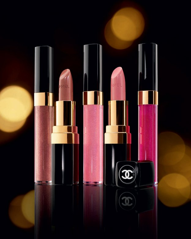 chanel les tentations holiday 2010 levres rouge coco