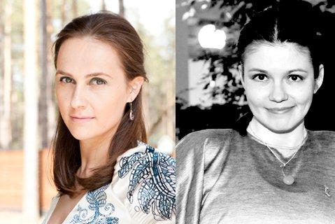 Валя Семанова и Катя Холопова. Войдут в историю как первые PR-люди, севшие за стол переговоров с блогерами :))