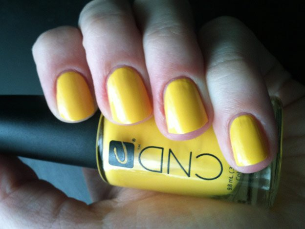 CND-Bicycle-Yellow-nails-swatch 2
