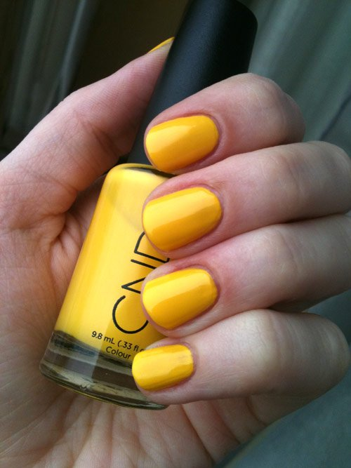 CND-Bicycle-Yellow-nails-swatch 4