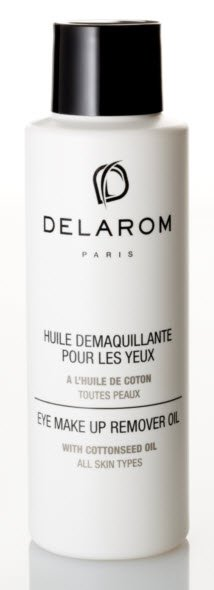 delarom eye makeup remover oil