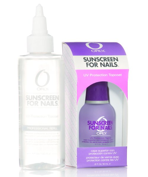 sunscreen for nails orly