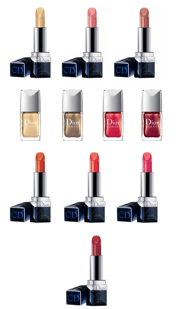Dior-lipsticks-nails
