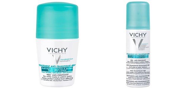 Новинка июля: обновленный дезодорант Vichy Deo 48H Anti-Traces
