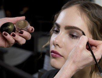 Giorgio Armani: макияж осень-зима 2014-2015