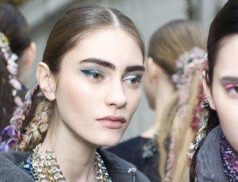 Chanel осень-зима 2014-2015: макияж