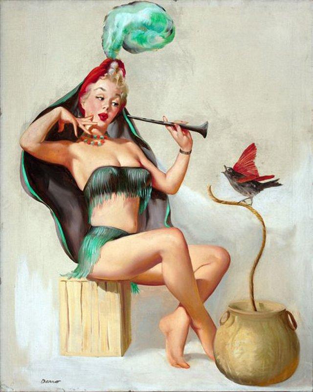 Аэробика - зло! Играть на дудочке полезнее, моя птичка!