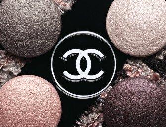 Урок макияжа с тенями Chanel Les 4 Ombres Tisse Vendome