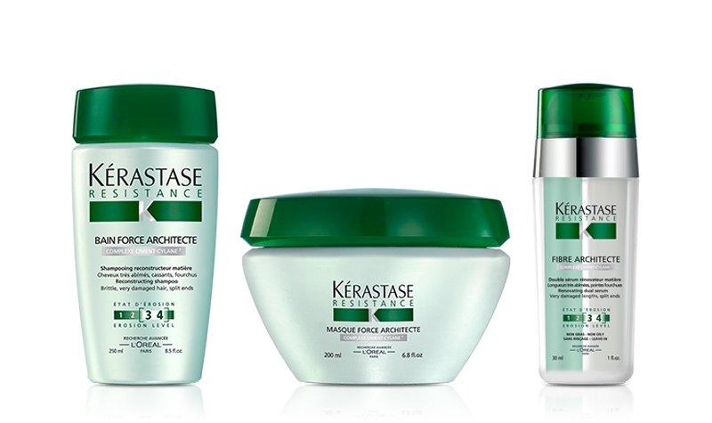 Линейка Resistance Kerastase: шампунь, маска, сыворотка