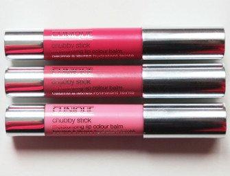 Clinique Chubby Stick Moisturizing Lip Colour Balm: новые оттенки. Свотчи и отзывы