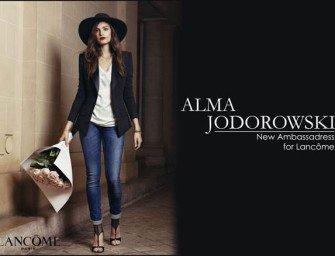 Альма Жодоровски — новая посланница красоты Lancôme
