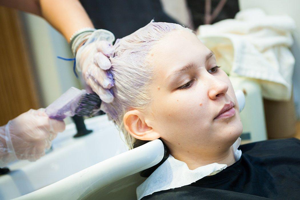 Чем и как покрасить волосы на один день