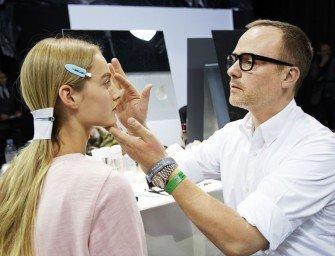 Макияж с показа Dior весна-лето 2015