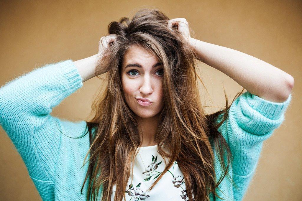 Три способа ретуши растрёпанных волос