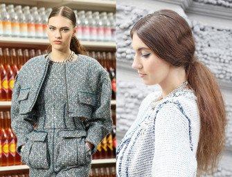 Модные прически осени-2014: пробор и хвост. Мастер-класс от Toni&Guy