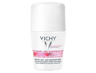 Дезодорант Vichy 48 Beauty Deo. Правда ли замедляет темпы роста волос? Отзыв