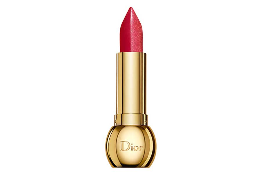Diorific Golden Shock — Shock Colour Lip Duo Matte and Metallic — 007 Passion Shock