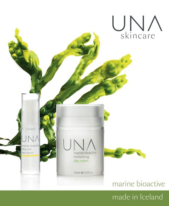 UNA Skincare image press release