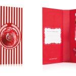 Подарочный набор-открытка «Морозная клюква» - The Body Shop®