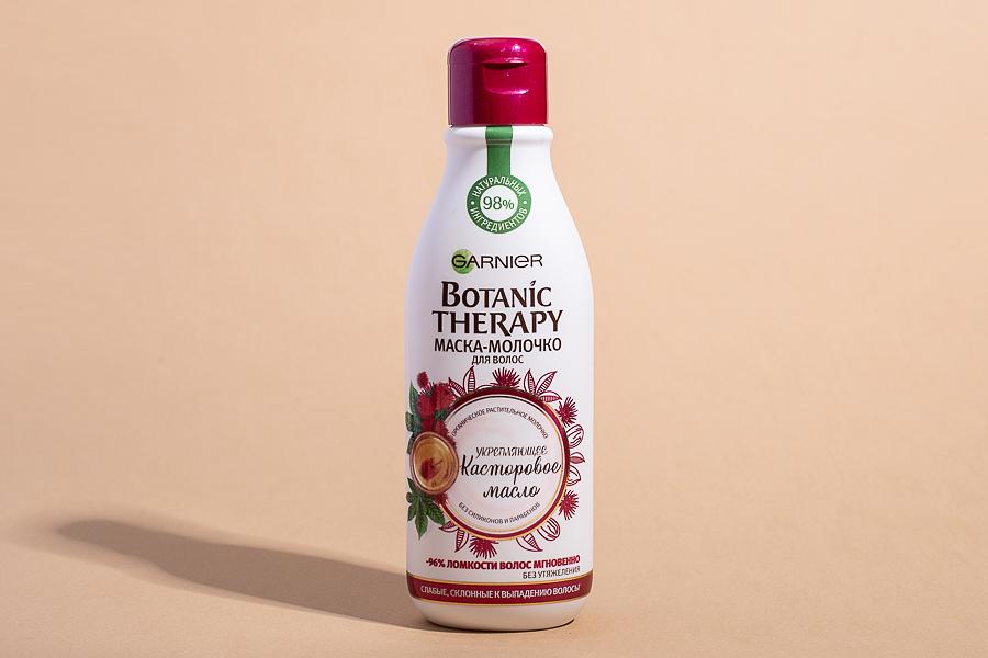 Маска-молочко для волос разглаживающее Botanic Therapy Касторовое масло, Garnier