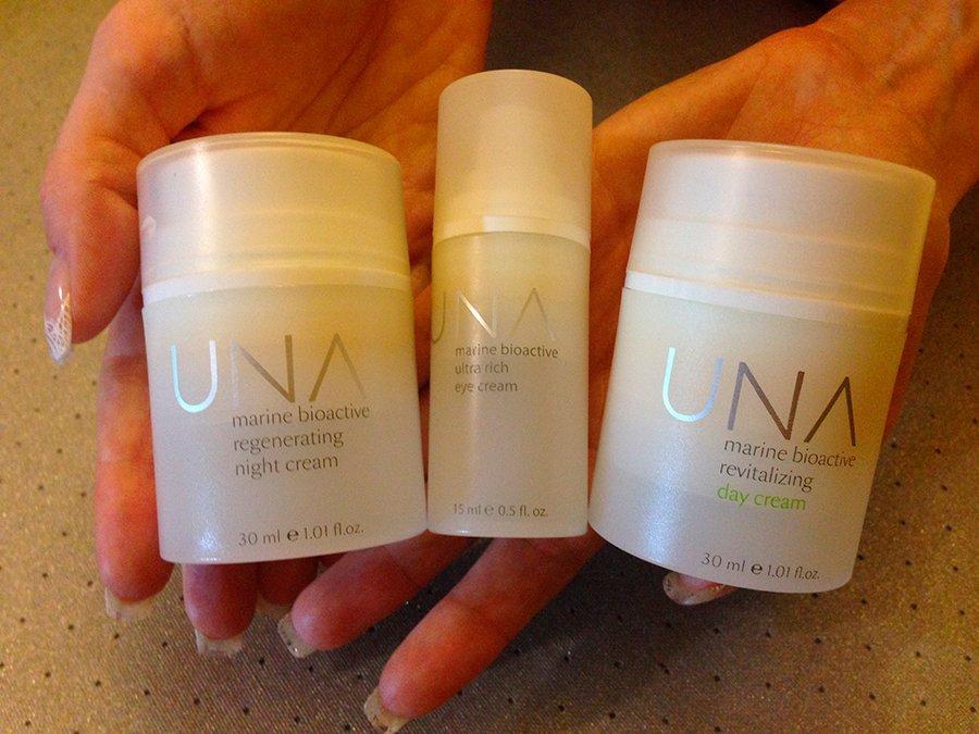 una-skincare-creams