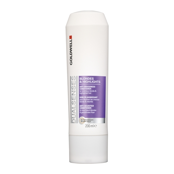 GoldwellDualSensesBlondesHighlightsAntiBrassinessConditioner