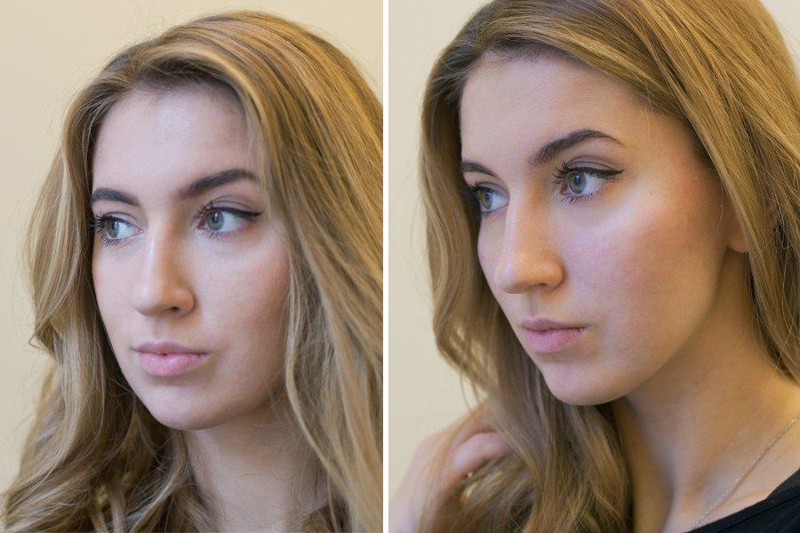 сделать худое лицо на фото айфон