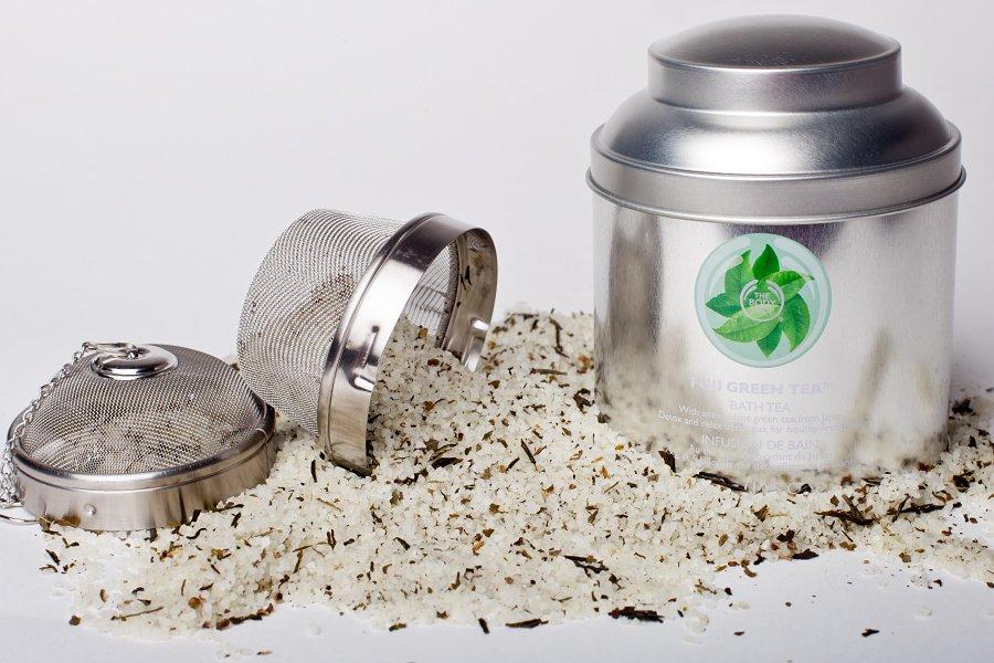 body shop fuji green tea