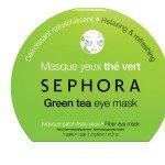 """Тканевая маска для глаз  """"Зеленый чай"""""""