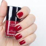 Chanel # 671 Écorce Sanguine - в 2 слоя