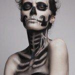 Классический макияж Смерти