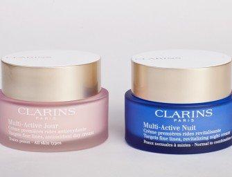 Тест-драйв кремов Clarins Multi-Active: выводы