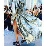 Isabel Marrant Metal vibes at Paris Fashion Week