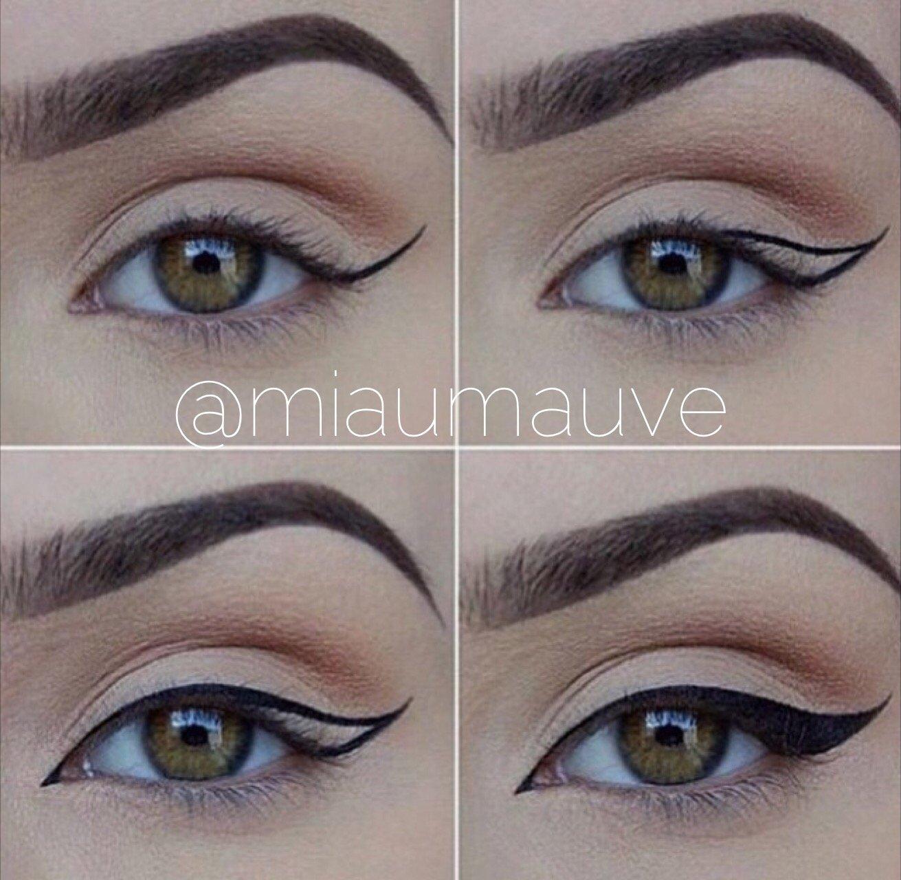 Как правильно нарисовать стрелки на глазах: пошаговая инструкция с фото для начинающих