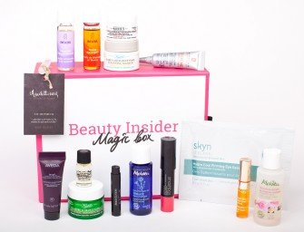 Beauty Insider Magic Box #4. Обзор коробочки