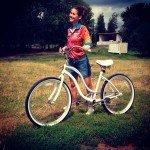 Из жизни Марины: велосипед...