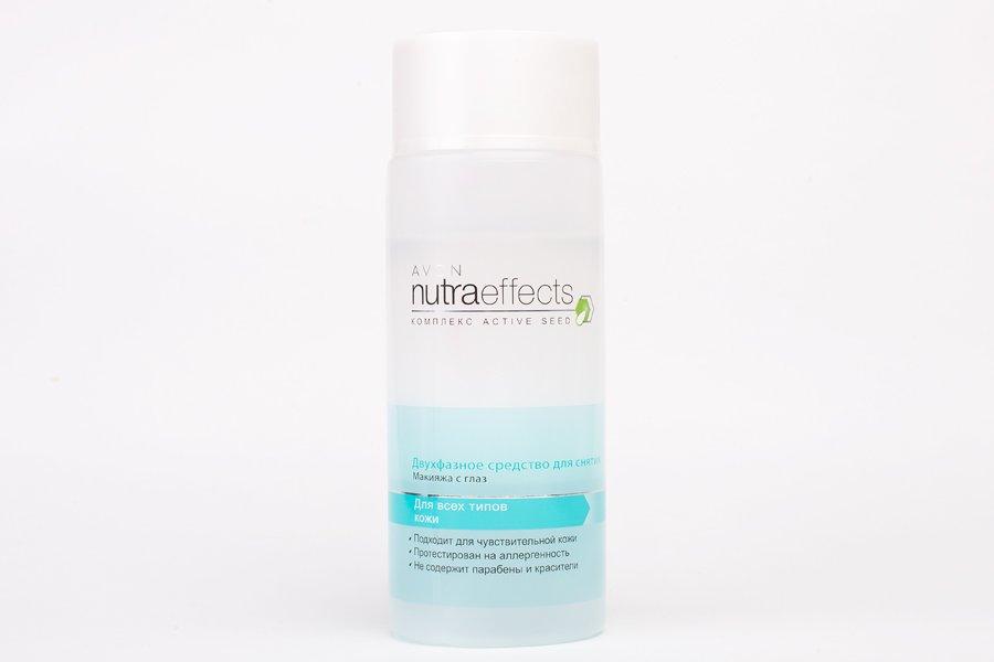 Двухфазное средство для снятия макияжа с глаз Avon Nutra Effects