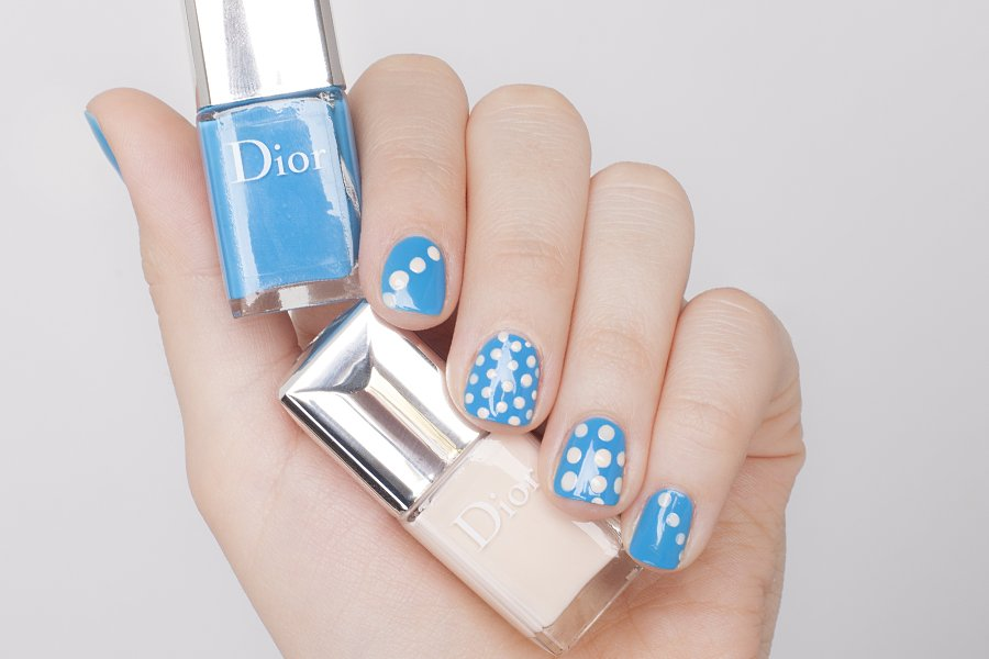 dior vernis 795 dots