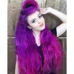 колорирование волос фиолетовый