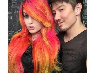 Колорирование волос: разрыв шаблонов от Гая Тэнга