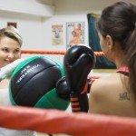 бокс, тренировка, ринг, женский бокс