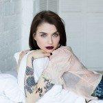 Sasha-Unisex-tattoos-Estee-Lauder-Lookbook-3