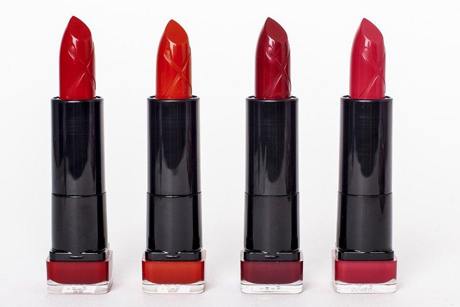 Коллекция помад для губ Marilyn Monroe Max Factor отзывы свотчи