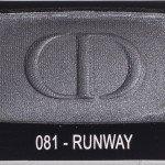 dior diorshow mono 081 runaway
