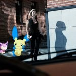 модная съемка Aizel с покемонами и Леной Летучей