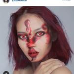 макияж по мотивам pokenon go