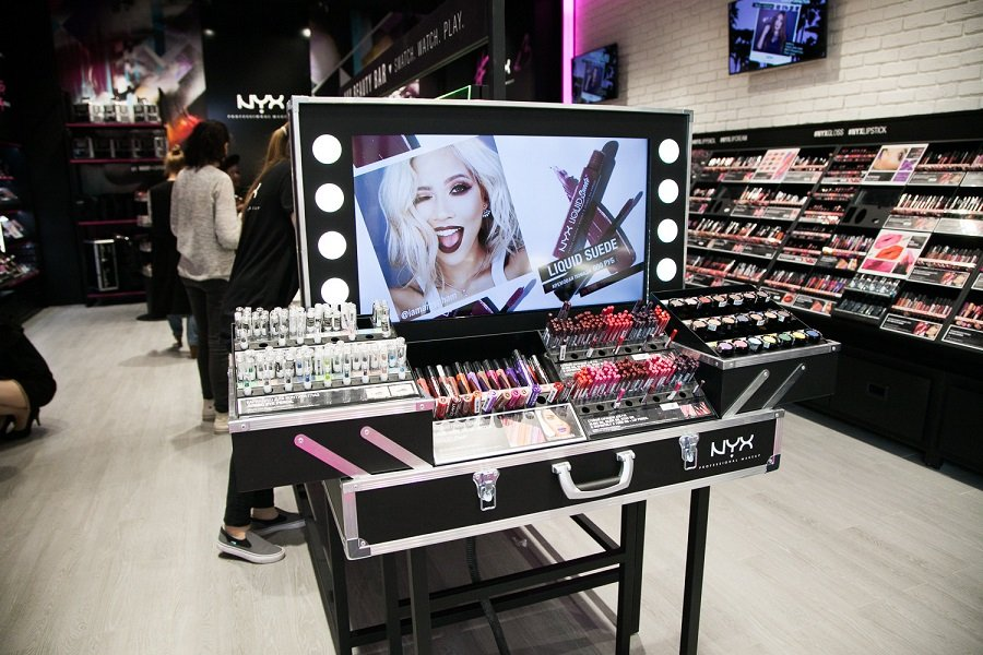 Nyx Professional Makeup new store